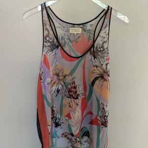 Dream Daily for Anthropologie Sheer Tank Top